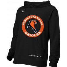 NFDL youth Evoshield team fleece hoodie
